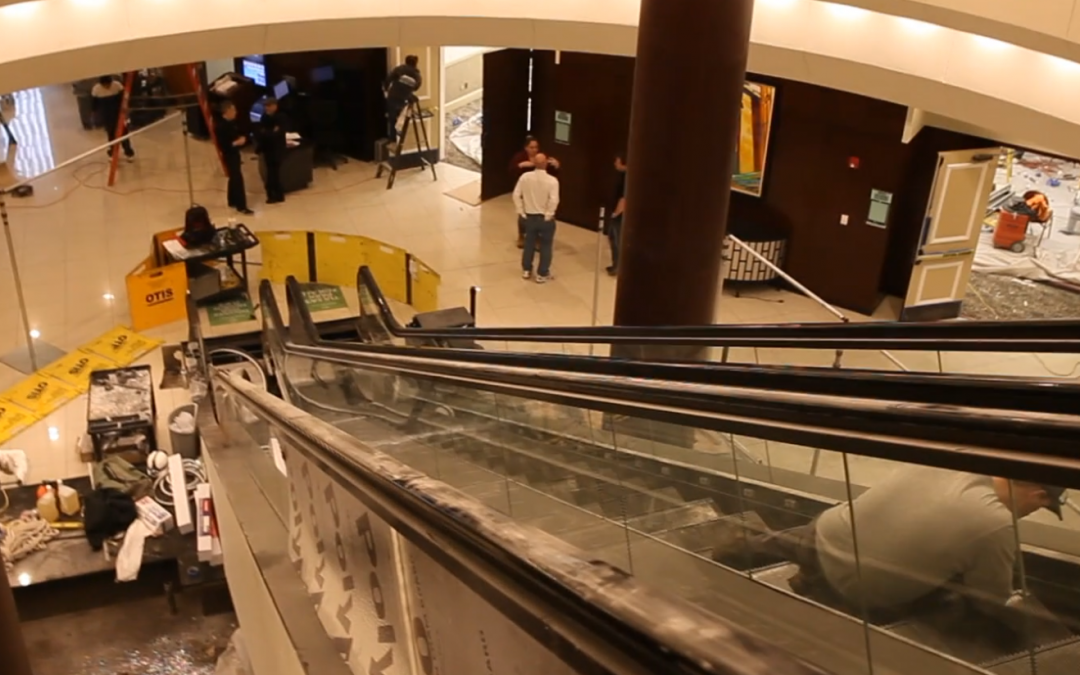 Live Review: Escalator Fire at the Hyatt